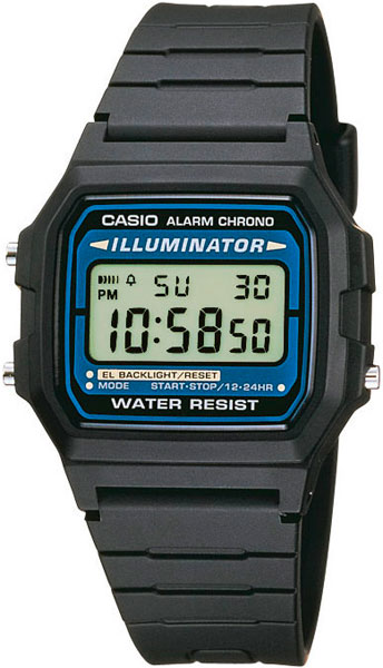 CASIO Collection Men F-105W-1A