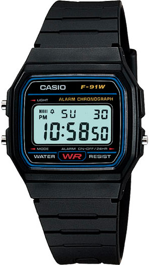 CASIO Collection Men F-91W-1Q